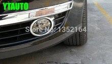 Спереди противотуманных фар крышка, туман лампы Накладка для Volkswagen Passat B6, ABS хром, автомобильные аксессуары