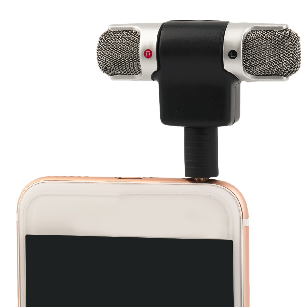 compare prices on mic jack online shopping buy low price mic jack high quality 3 5mm jack portable mini mic digital stereo microphone for recorder mobile phone sing