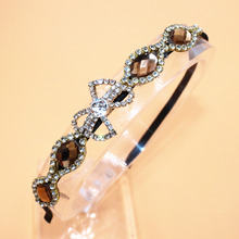 New Fashion Girls Princess Hairband Child Party Bridal Crown Headband Crystal Diamond Tiara Hair Hoop Hair