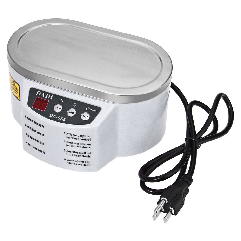 500ml Micro Ultrasonic Cleaner Jewelry Glasses Necklace Cleaning Machine Intelligent Control Ultrasonic Cleaning Ultrasonic Bath цена