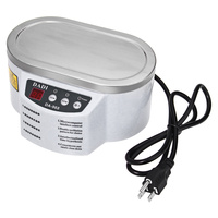 500ml Micro Ultrasonic Cleaner Jewelry Glasses Necklace Cleaning Machine Intelligent Control Ultrasonic Cleaning Ultrasonic Bath