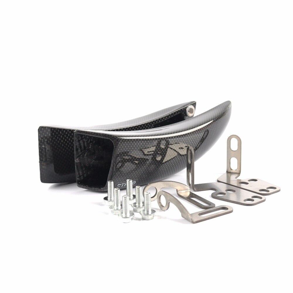 DTRAD MOTO BIKE Condotti Dell'aria di Raffreddamento Dei Freni kit di Montaggio Per YAMAHA YZF-R1/R1M/R1S 15-18 KAWASAKI ZX-10R Ninja 11-18 In Fibra di Carbonio