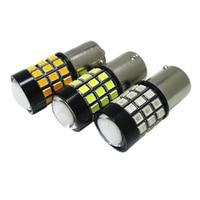 2PCS Auto Car Led S25 BA15S P21W 1156 39W 39LED Super bright 1156 Brake lights Reversing lights turn signals Red White Yellow