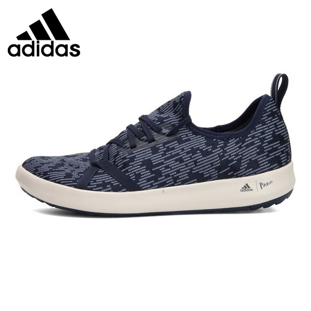 cheaper 4d496 dac82 US $137.1 |Original New Arrival 2018 Adidas TERREX CC BOAT PARLEY Men's  Aqua Shoes Outdoor Sports Sneakers-in Upstream Shoes from Sports & ...