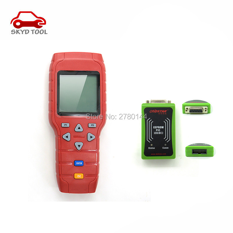 Hot sales OBDSTAR X-100 x100 PRO Auto Key Programmer (C+D) Type Support EEPROM Function for IMMO+Odometer+OBD Software DHL free