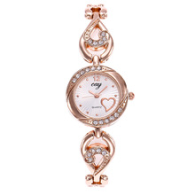 New Fashion Watch Women Luxury Brand Gold Crystal Jewelry Bracelet Wrist Watches For Women Dress Quartz Watch Ladies Clock Gifts