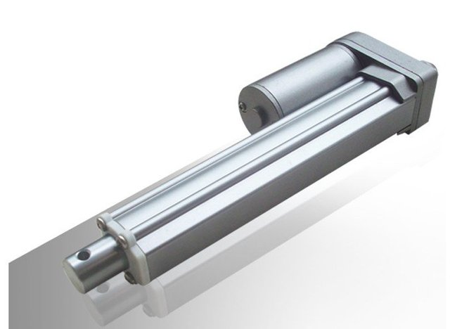 waterproof out door using 12VDC 200mm max load1200N silver colour linear actuator with good performance for industry using