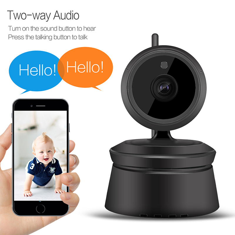 Meisort 1080p HD wifi Camera P2P Network ip Camera Security Surveillance Video IR Night Vision CCTV Camera Baby Monitor