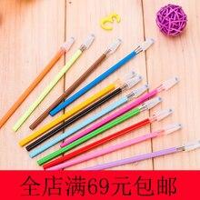 12 цветов Заправка для гелевой ручки картридж Алмазный сердечник для цветной гелевой ручки Белый Синий Фиолетовый Розовый Зеленый Желтый цвет ручка Z8046