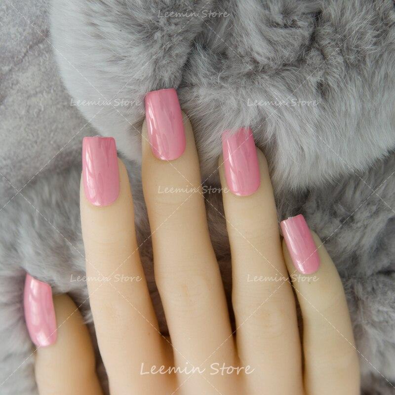 2016 New pink planting nails,metal false nails, long nails ...