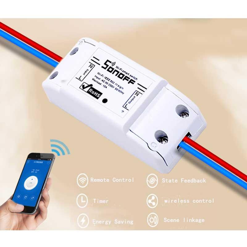 ITEAD Sonoff 220v Wifi Switch Intelligent WiFi Wireless Remos