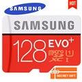 Samsung evo plus micro sd 16 gb 32 gb 64 gb 128 gb cartões microsd cartão de memória sdhc sdxc c10 max 80 m/s o cartão do tf