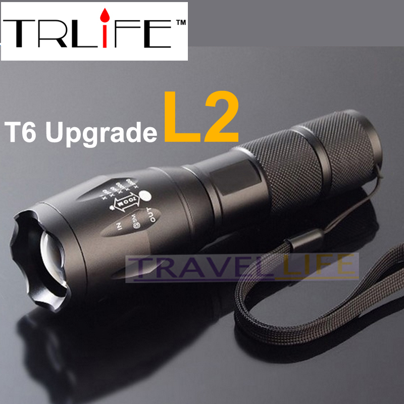 E17 cree xm l2 8000lm tactical cree led torch zoom cree led flashlight torch light for