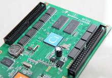 HD-С1 led контроллер карты rgb видео карты 128*384 пикселей 50pin порт huidu платы управления HD-C10