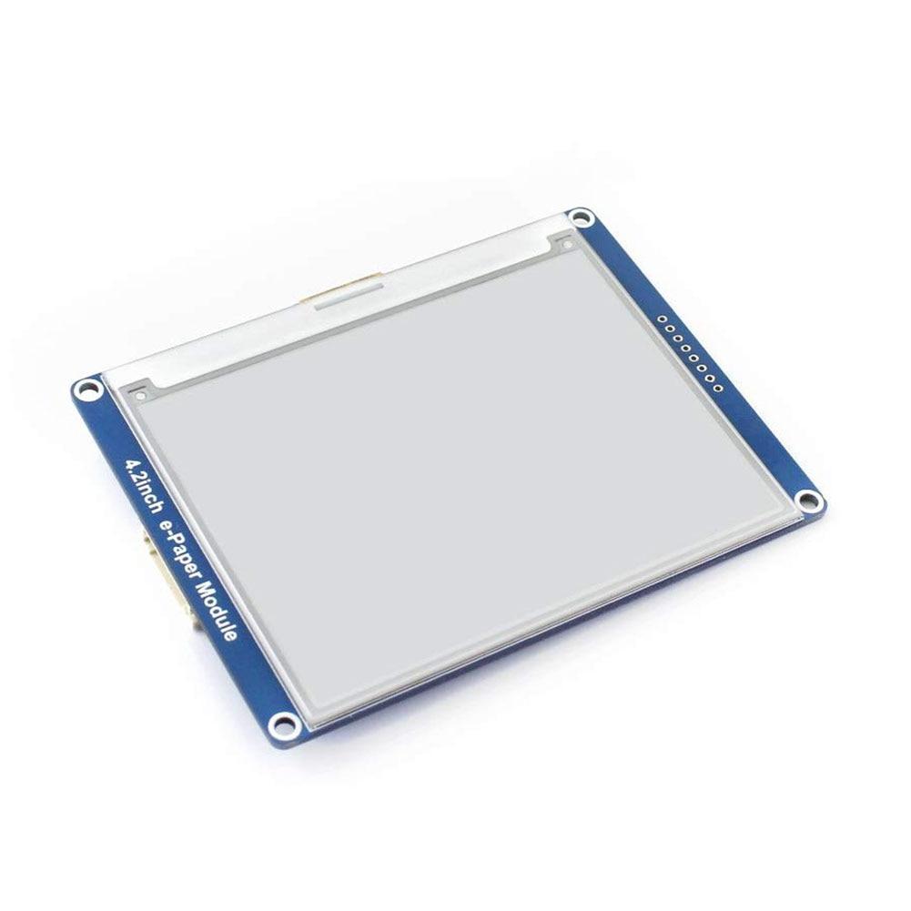 4.2 pouces e-paper Display Module bricolage pas de rétro-éclairage noir blanc couleur grand Angle e-ink SPI Interface rafraîchir pratique pour Arduino