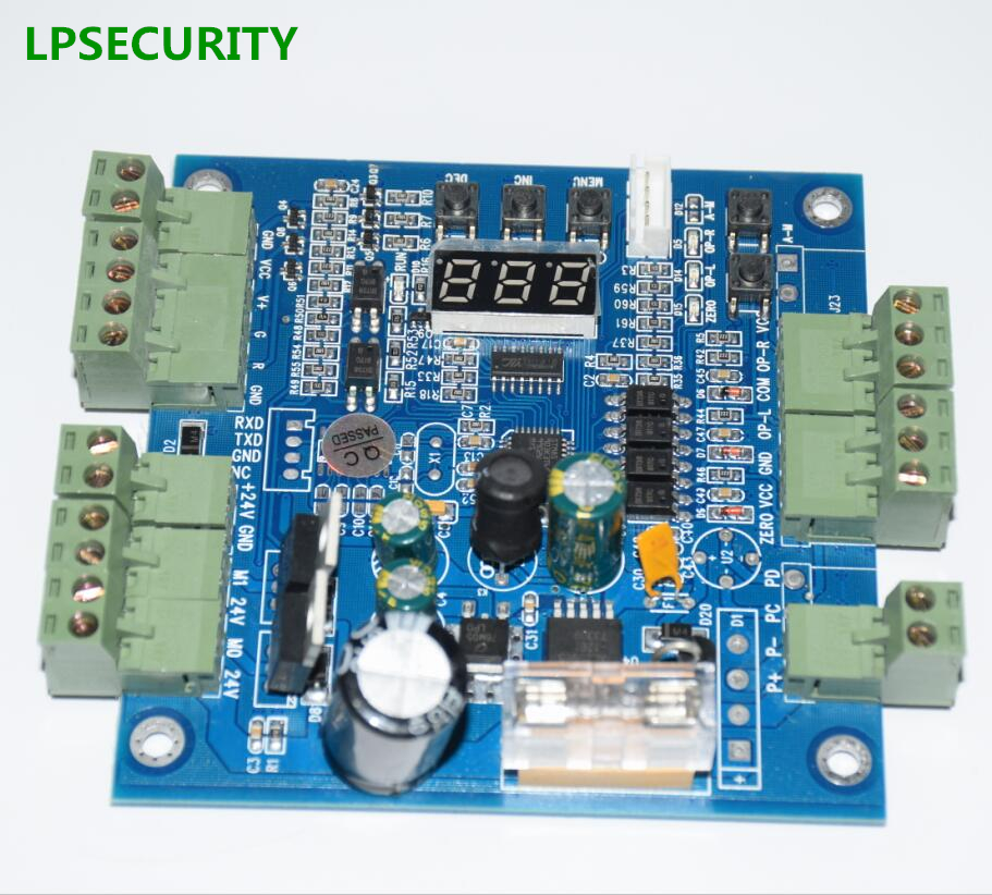 LPSECURITY solenoid tripod turnstile pcb control board CARD(the price is only for board)