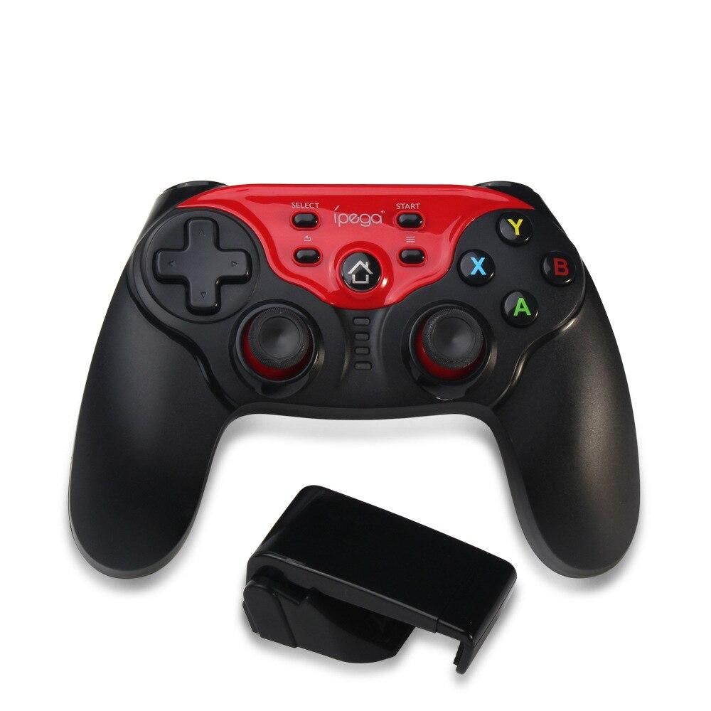 Contrôleur de manette de jeux Bluetooth sans fil Joysticks Clip Android iOS Smartphone TV Box PC PUBG jeux (IPEGA PG-9088)