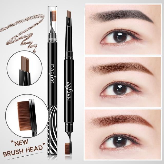 1pc Eyebrow Pencil Eye Brow Gel Women Girl Waterproof Brow Pencil