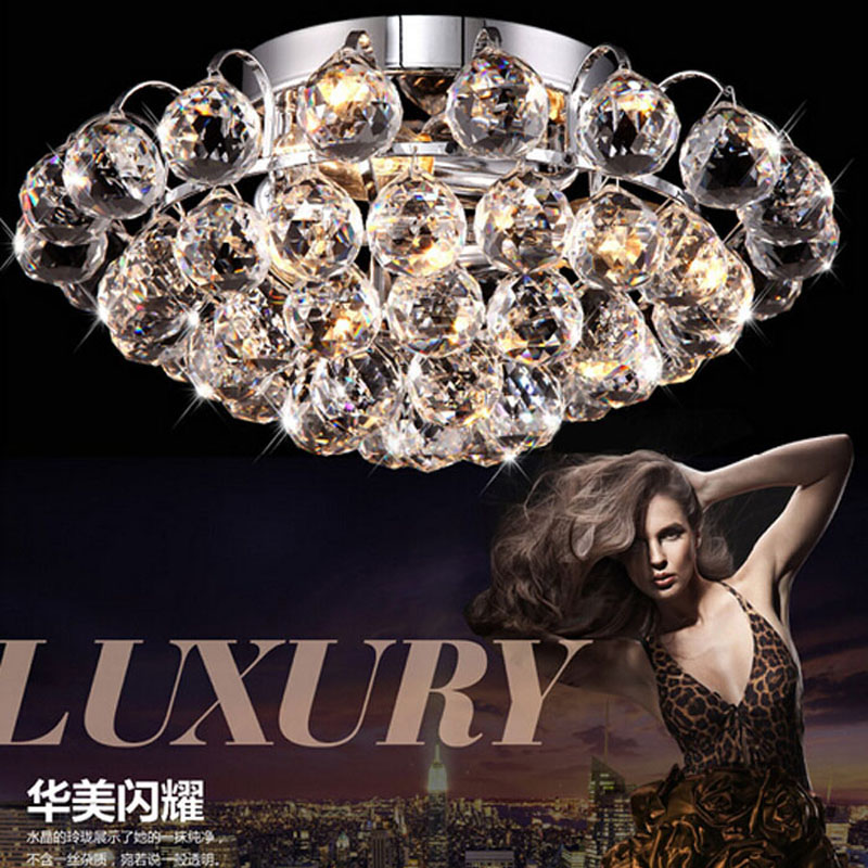 Luxury K9 Crystal lighting fixture LED Crystal Ceiling Lights Living Room Dining Room Lamp Lighting Aisle Entrance Balcony luxury crystal led ceiling lights restaurant aisle living room balcony lamp modern lighting for home decoration adjustable light