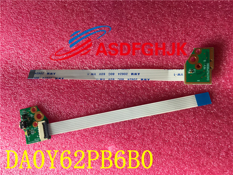Original FOR HP Pavilion 13-A013CL X360 Power Button W/Cable DA0Y62PB6B0 32Y62PB0000  Free Shipping