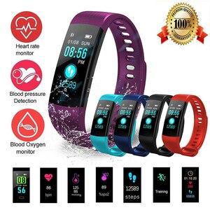 Image 2 - スマート腕時計スポーツフィットネス活動心拍数トラッカー血圧リストバンドIP67防水バンド歩数計iosアンドロイド