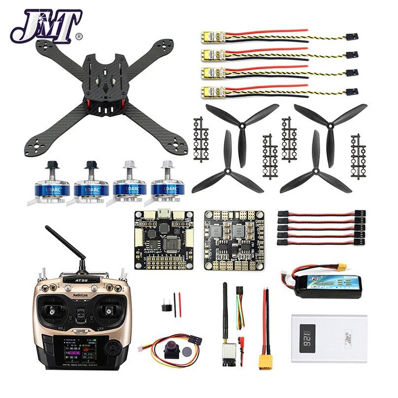 DIY RC Drone Pro SP Racing F3 300mm 2 4G 10CH Transmitter Carbon Fiber Frame Brushless