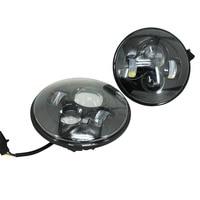 LED Headlight 7 Round LED Headlight Offroad Light Hi Lo Beam For Jeep Wrangler TJ LJ