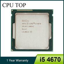 Intel Core i5 4670 3.4GHz 6MB Socket LGA 1150 Quad Core CPU Processor SR14D
