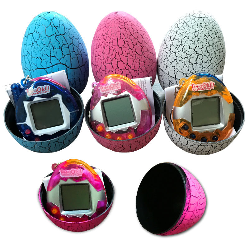 Multi-Colored 49 Pets One Virtual Pet Cyber Retro Funny Toy Foreign Trade Electronic Virtual Pet Machine Crack Eggs Develop Slot