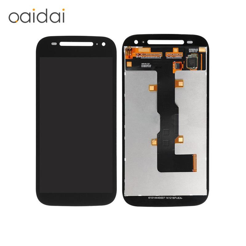imágenes para Pantalla LCD Táctil Digitalizador Asamblea Para Motorola Moto E2 E + 1 Xt1505 Xt1524 Xt1527 Xt1511 Reemplazo Del Teléfono Móvil partes