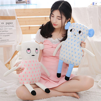 Cute Little Monster Plush Toy Baby Sleep Soothe Toys Baby Pillow Cartoon Stuffed Soothing Dolls Girl Gift Birthday Holiday Gifts