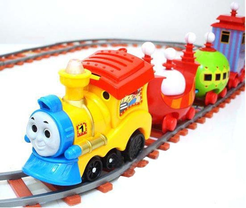 48dcd163e self-assemble train toys for children railway trains for kids fancy toys  train big size toys trains with music and light
