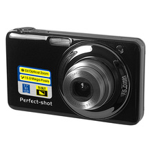 High Quality Mini Portable 15 MP Digital Camera with Lithium 3.7V Battery Support Multi-language Compact Cameras DC-V600