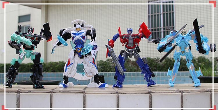 20cm Transformation Anime Action Figure Plastic ABS Robot Car cool dinosaur Tank Aircraft Kids Toy