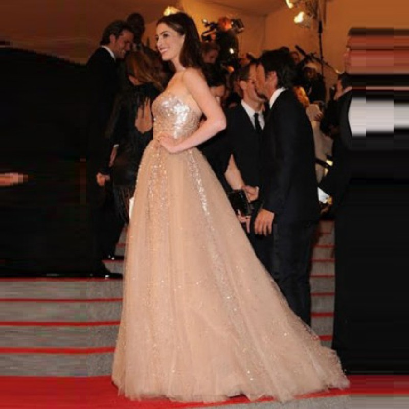 anne_hathaway_gold_sequined_prom_dress_met_ball_2010_1