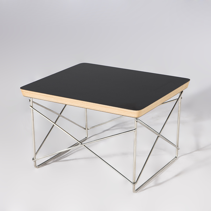 Hot sales Tea table Wire Base simple LTR end table Modern Small coffee table for living room sofa side table