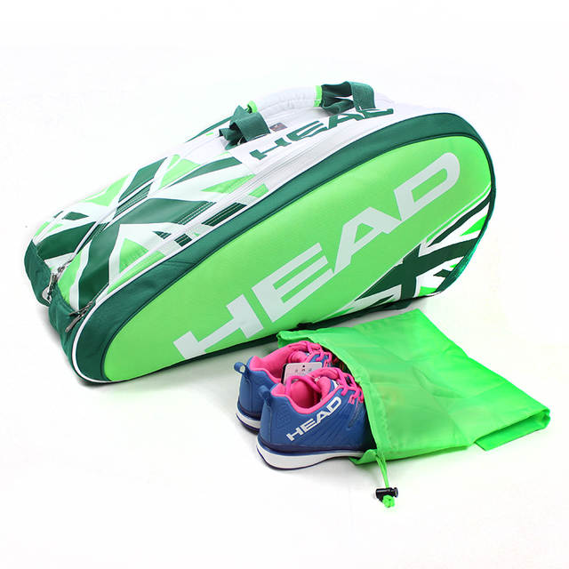 eef7dd3665e placeholder Head Andy Murray Genuine Wimbledon Championships Tennis Bag for  9 pieces high quality racket bags