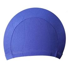 Free Size Fabric Protect Ears Long Hair Sports Siwm Pool Swimming Cap Hat Sporty Ultrathin Bathing Caps For Adults Men Women