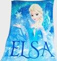Marca Elsa Anna Polar Manta de Bebé Manta Swaddle Bebé Niños Niñas Niños Mantas de Cama de Los Niños