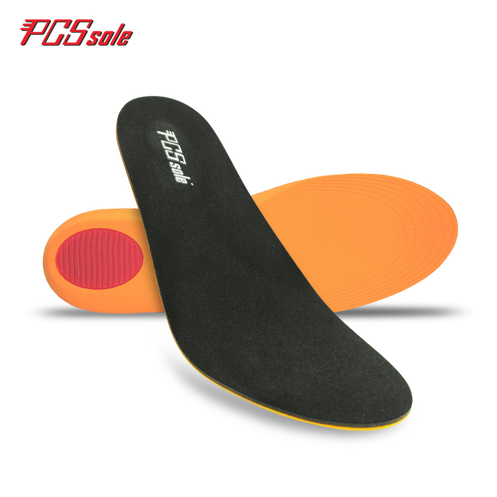 Original PCSsole Free size PU sport insoles Anti - Slip Deodorization shock absorption Breathable insoles sport shoes pad P1001 shanghai kuaiqin kq 5 multifunctional shoes dryer w deodorization sterilization drying warmth