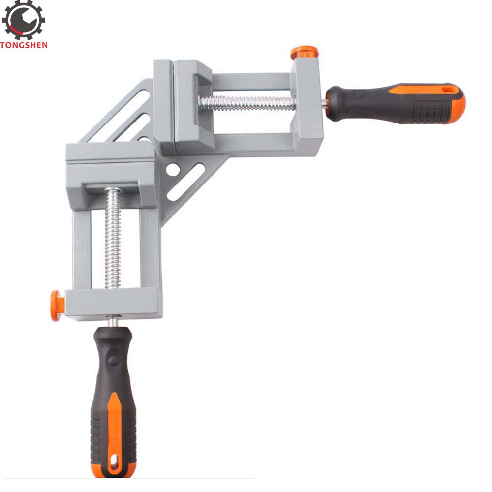 Quick-Jaw Right Angle 90 Degree Corner Clamp Carpenter Welding Wood-working