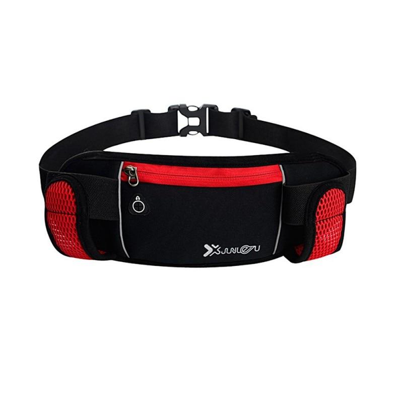 Outdoor Running Hydration Belt Reflective Running Water Belt Men Women Waist Pack With 2 Bottles 280ml Running Bags