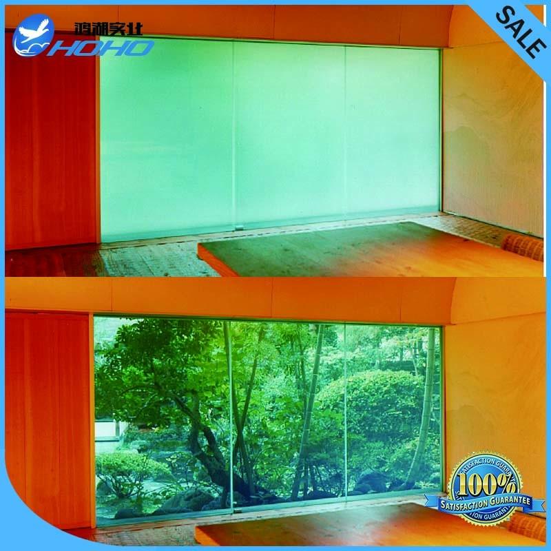 Smart Film Verre \/il utiliser pour projecteur écran, électrique verre intimité, électriquement commutable verre intelligent