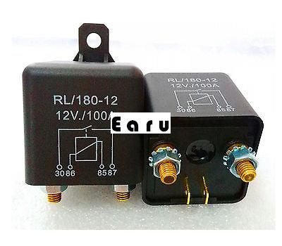 Hot Sale Factory Direct Wholesale 1pc New DC 12V 100A Heavy Duty Split Charge ON/OFF Relay Car Truck Boat on sale 100