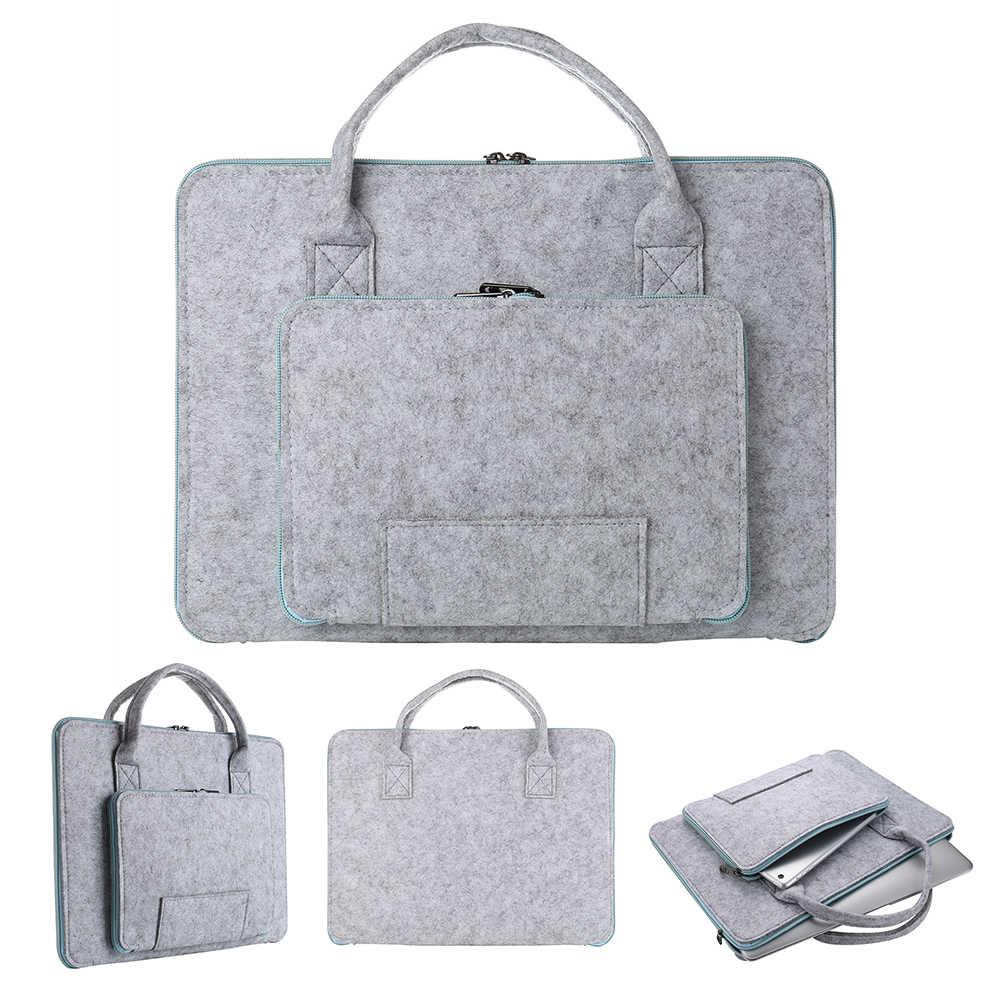 Gorąca sprzedaż nowy 1PC miękkie pokrowiec na laptopa 11 12 13 14 15 Cal torba na laptopa etui na macbooka Air 13 Pro Retina 15 torby na notes Drop Ship