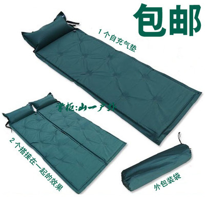 Colchones Para Camper.Us 22 85 180 60 3cm Inflated Bivouac Camping Mattress For Single Person Use Air Bed For Tent Bivouac Camping Mat With Pillow In Camping Mat From