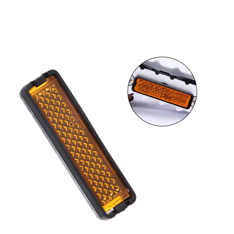 4 Pcs 30g Bicycle Pedal Reflector Safety Night Cycling Reflective Bike Accessory in Bicycle Pedal from Sports Entertainment