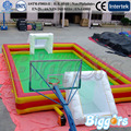 Free Shipping By Sea Inflatable Sport Game Football Arena Soccer Filed