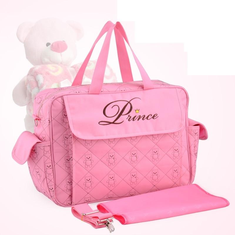 Insular Mommy Bag For Baby Stroller Bag Waterproof Diaper Bag For Mom Multifunctional Maternity Bags Travel Durable Nursing Tote