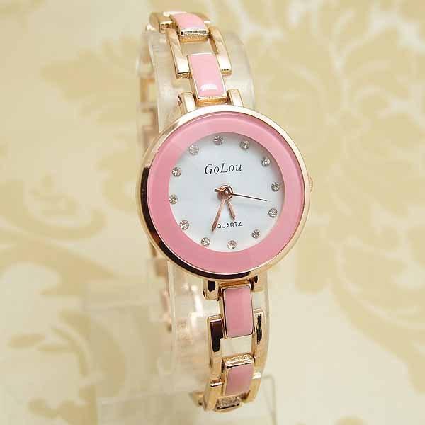 Wholesale luxury rose gold bracelet Watch Women Lady Fashion crystal Dress Quartz Wristwatches Relogio Feminino GO096 бейсболка diesel 00s05p 0paot 96x